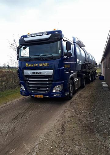 MAAS B.V. KESSEL tankwagen transport