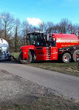 MAAS B.V. KESSEL Vervaet injecteur en tankauto